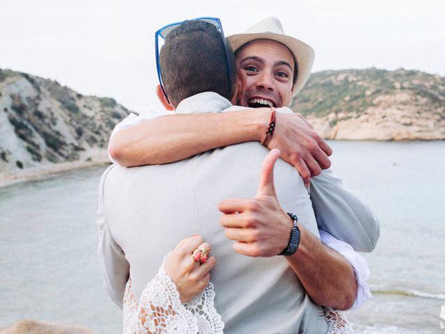 La boda de Álvaro y Paula en Xàbia/jávea, Alicante 41