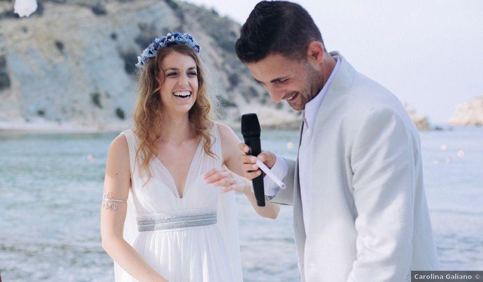 La boda de Álvaro y Paula en Xàbia/jávea, Alicante