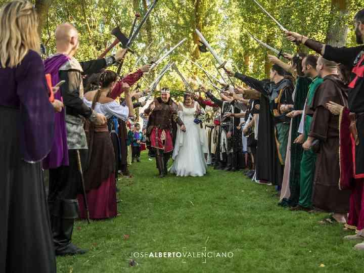 La boda de Mariluz y Juan