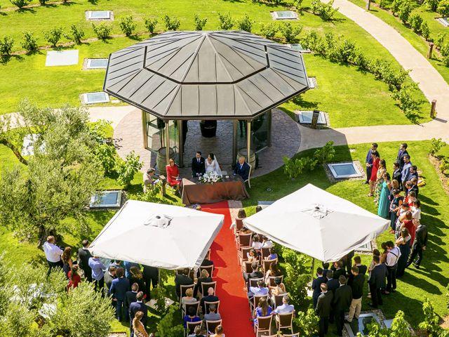 La boda de Arkaitz y Rafaela en Laguardia, Álava 1