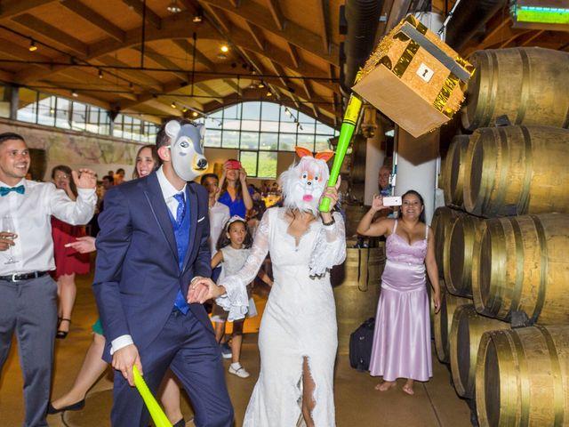 La boda de Arkaitz y Rafaela en Laguardia, Álava 17