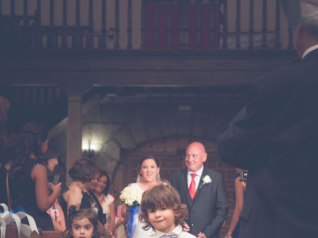 La boda de Fernando y Bárbara en El Tiemblo, Ávila 37