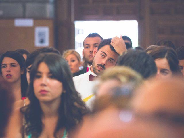 La boda de Fernando y Bárbara en El Tiemblo, Ávila 42