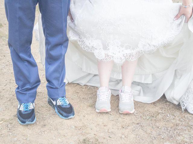La boda de Fernando y Bárbara en El Tiemblo, Ávila 63