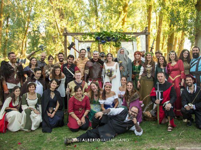 La boda de Juan y Mariluz en Saelices, Cuenca 2