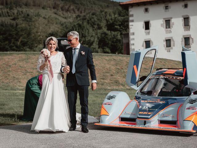 La boda de Arkaitz y Lorena en Yanci/igantzi, Navarra 41