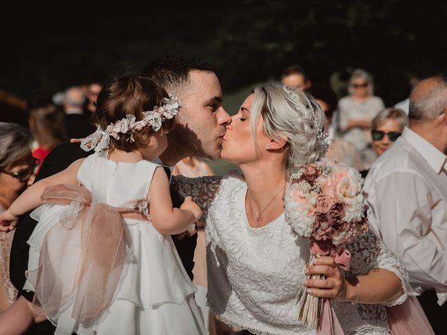 La boda de Arkaitz y Lorena en Yanci/igantzi, Navarra 43