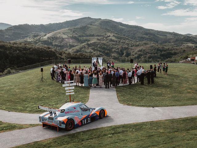 La boda de Arkaitz y Lorena en Yanci/igantzi, Navarra 45