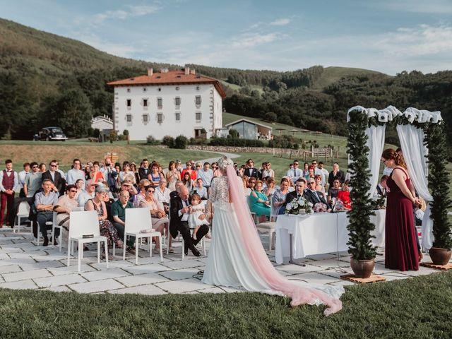 La boda de Arkaitz y Lorena en Yanci/igantzi, Navarra 47