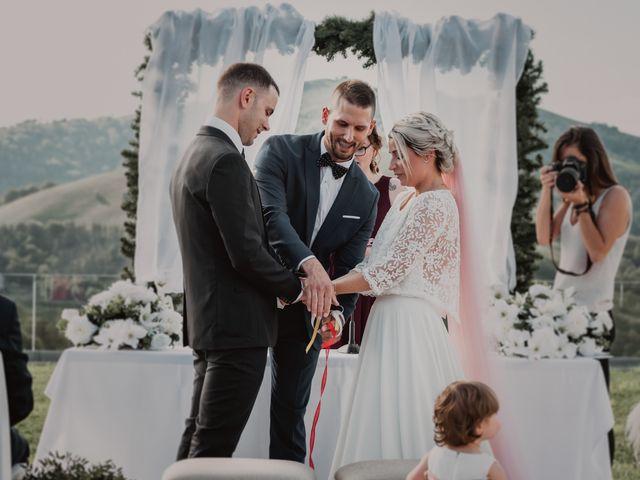 La boda de Arkaitz y Lorena en Yanci/igantzi, Navarra 52