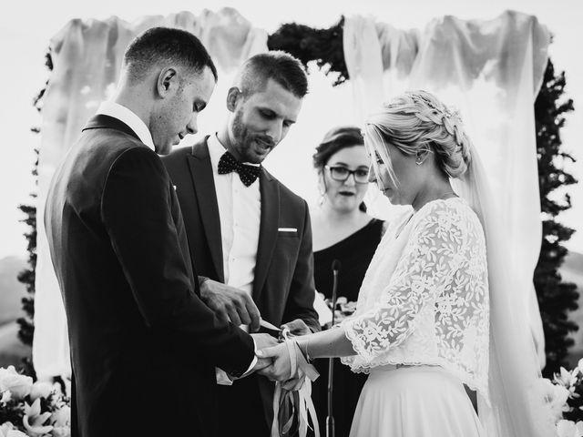 La boda de Arkaitz y Lorena en Yanci/igantzi, Navarra 53