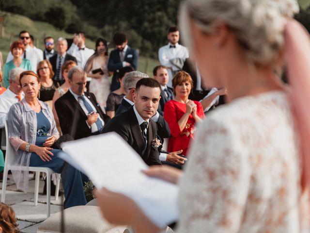 La boda de Arkaitz y Lorena en Yanci/igantzi, Navarra 55