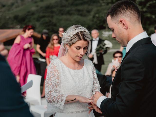 La boda de Arkaitz y Lorena en Yanci/igantzi, Navarra 58