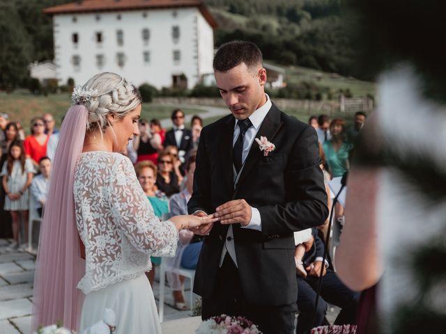 La boda de Arkaitz y Lorena en Yanci/igantzi, Navarra 59