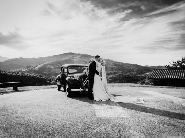 La boda de Arkaitz y Lorena en Yanci/igantzi, Navarra 63