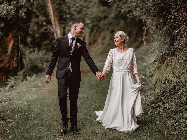 La boda de Arkaitz y Lorena en Yanci/igantzi, Navarra 1