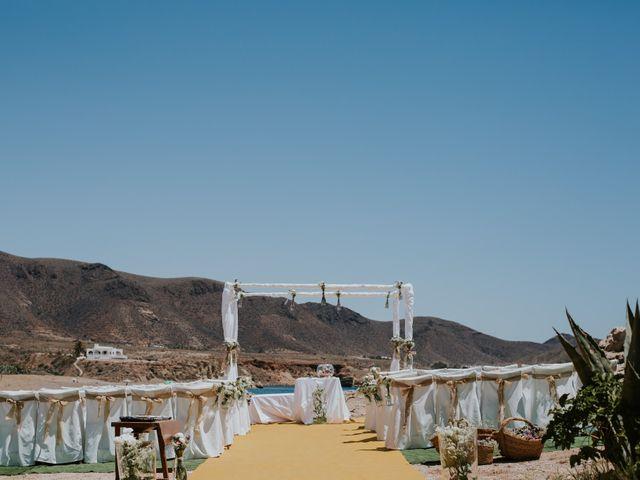 La boda de Isidro y Bea en Los Escullos, Almería 6