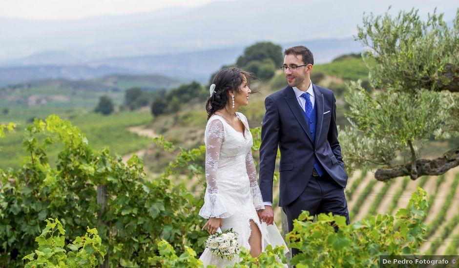 La boda de Arkaitz y Rafaela en Laguardia, Álava