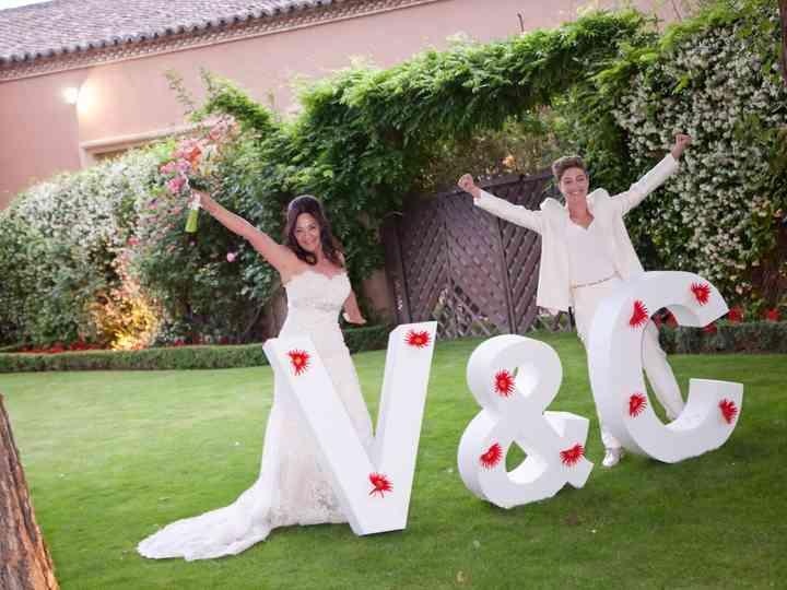 La boda de Vero y Conchi