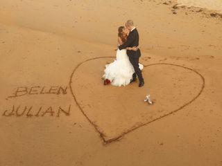 La boda de Belén y Julián