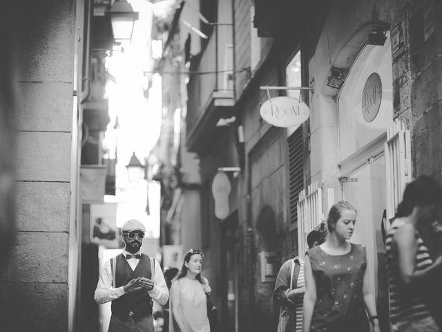 La boda de Dani y Judy en Sant Fost De Campsentelles, Barcelona 32