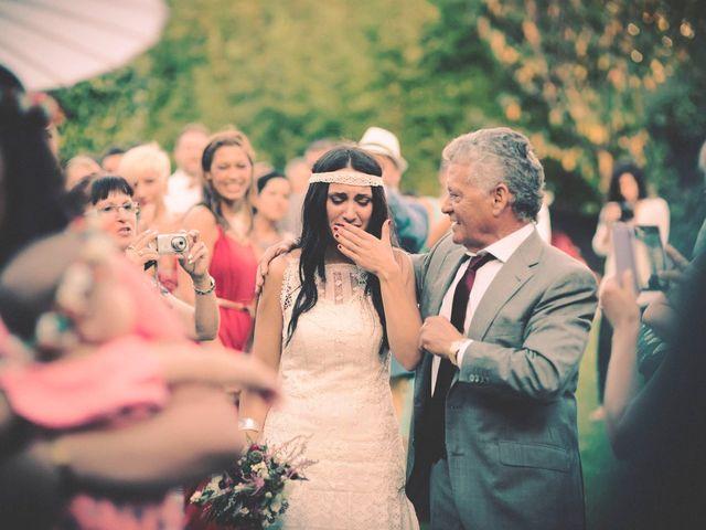 La boda de Dani y Judy en Sant Fost De Campsentelles, Barcelona 104