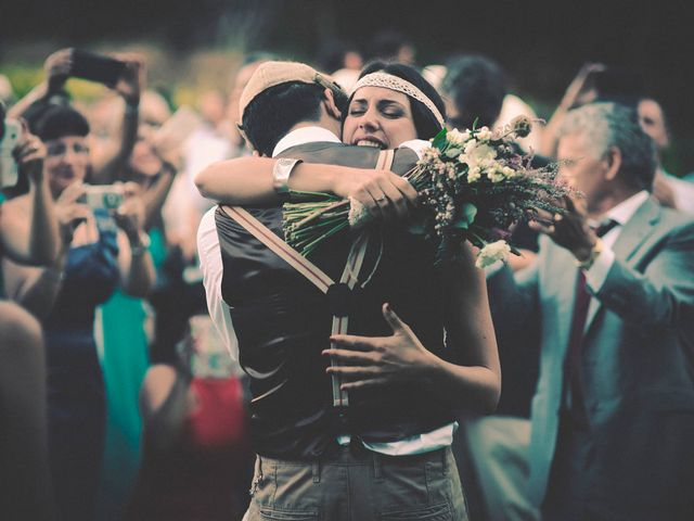 La boda de Dani y Judy en Sant Fost De Campsentelles, Barcelona 106