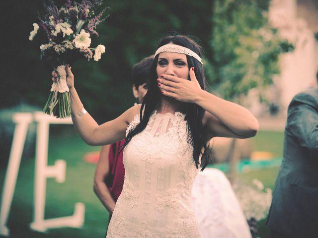 La boda de Dani y Judy en Sant Fost De Campsentelles, Barcelona 107