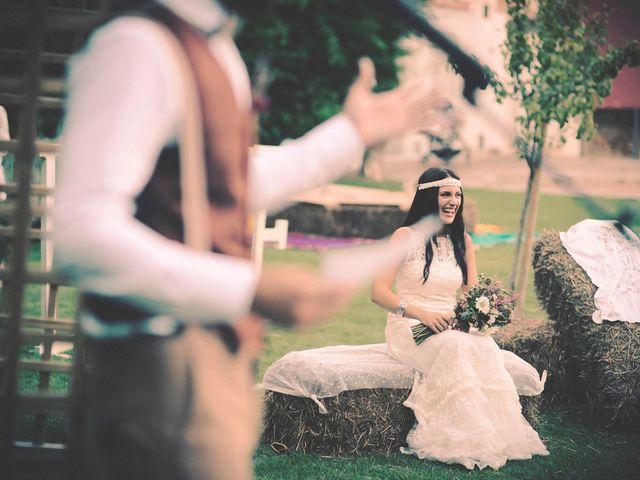 La boda de Dani y Judy en Sant Fost De Campsentelles, Barcelona 109