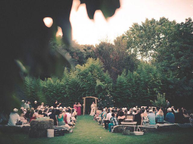 La boda de Dani y Judy en Sant Fost De Campsentelles, Barcelona 111