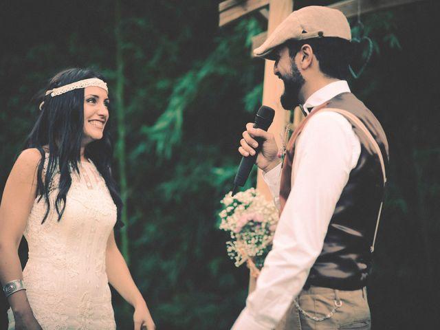La boda de Dani y Judy en Sant Fost De Campsentelles, Barcelona 121