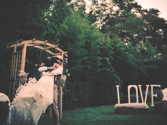 La boda de Dani y Judy en Sant Fost De Campsentelles, Barcelona 124
