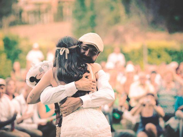 La boda de Dani y Judy en Sant Fost De Campsentelles, Barcelona 127