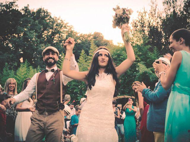 La boda de Dani y Judy en Sant Fost De Campsentelles, Barcelona 129
