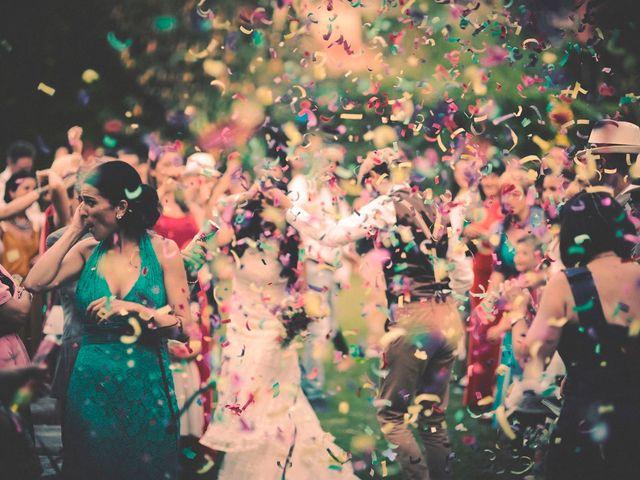 La boda de Dani y Judy en Sant Fost De Campsentelles, Barcelona 130