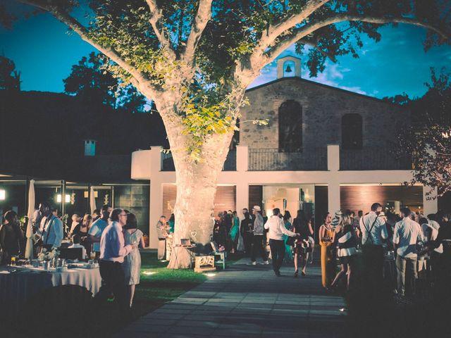 La boda de Dani y Judy en Sant Fost De Campsentelles, Barcelona 170