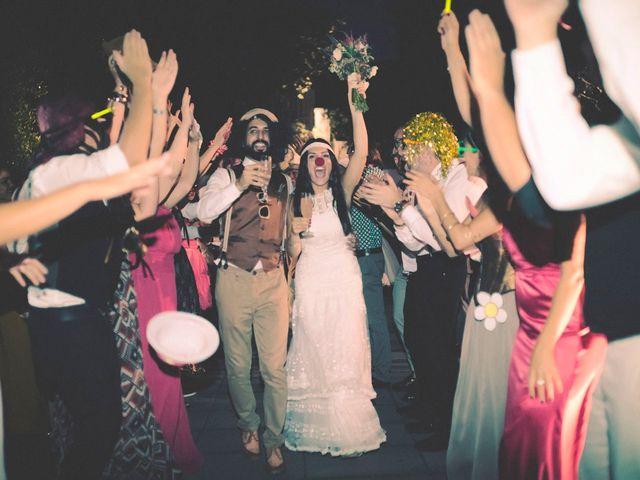 La boda de Dani y Judy en Sant Fost De Campsentelles, Barcelona 171
