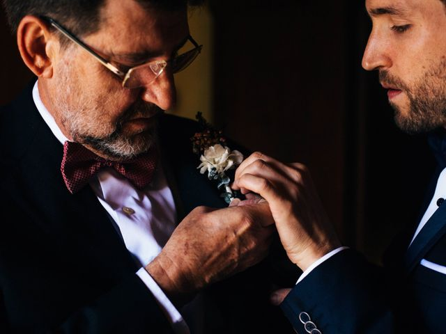 La boda de Josep y Mercedes en Llers, Girona 14