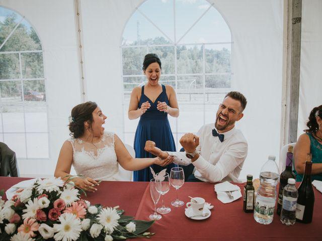 La boda de Jose y Ainhoa en Quintana De Fuseros, León 43