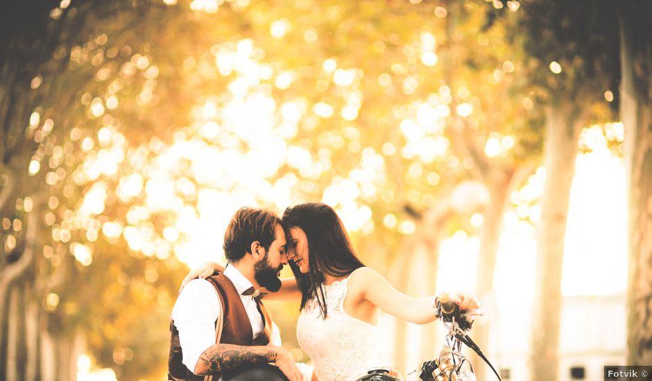 La boda de Dani y Judy en Sant Fost De Campsentelles, Barcelona
