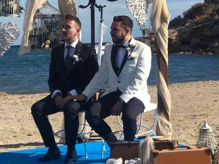 La boda de Rafael y Adrián