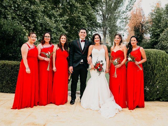 La boda de Javier y Maria en Villanueva De Perales, Madrid 4