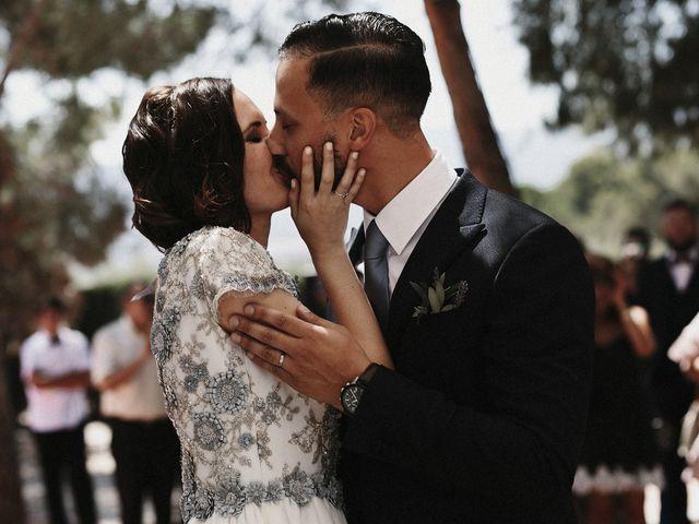 La boda de Lorenzo y Ester en Castalla, Alicante 2
