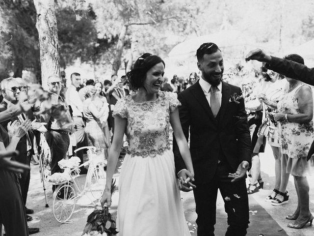 La boda de Lorenzo y Ester en Castalla, Alicante 43