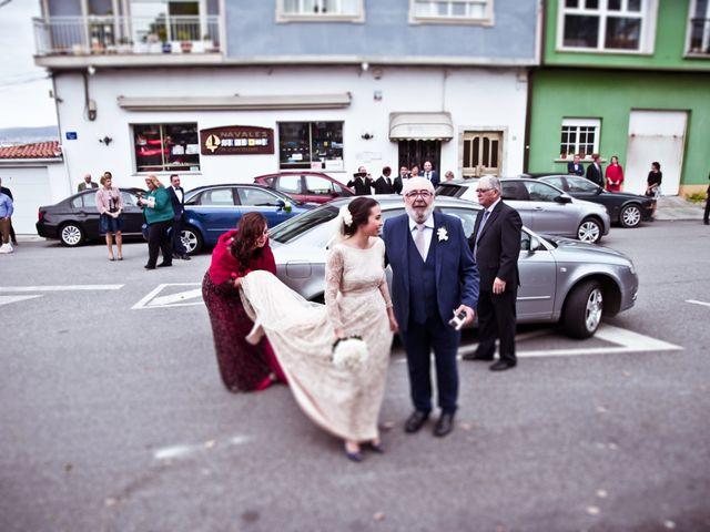 La boda de José y María en Boiro (Boiro), A Coruña 7