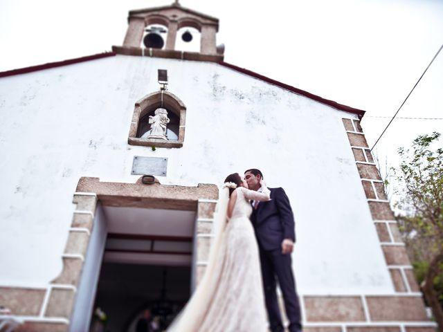 La boda de José y María en Boiro (Boiro), A Coruña 13