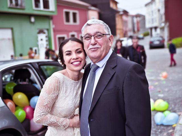La boda de José y María en Boiro (Boiro), A Coruña 16
