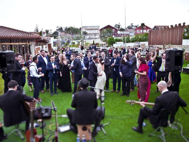 La boda de José y María en Boiro (Boiro), A Coruña 19