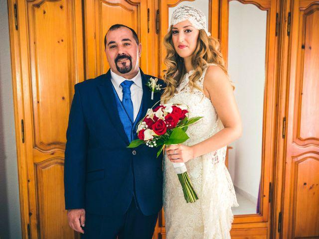 La boda de Toni y Silvia en Alhama De Almeria, Almería 24