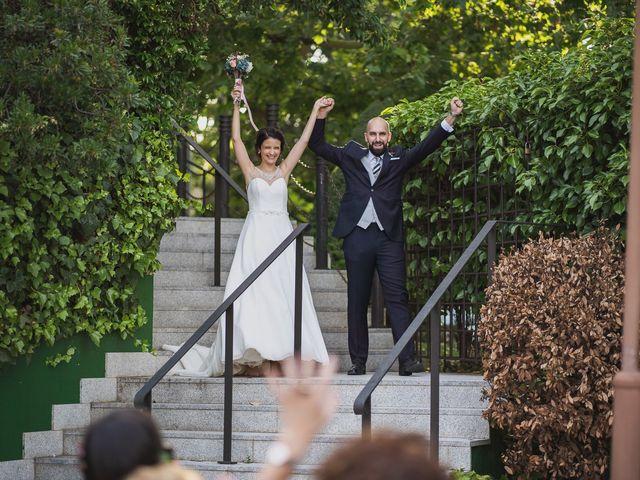 La boda de David y Raquel en Madrid, Madrid 92